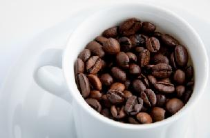 Coffe Cup with beans